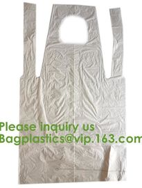 China PBAT+PLA Compostable disposable plastic apron,100% Biodegradable & Compostable disposable,Safe and Healthy, bagease, pac factory