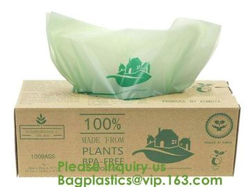 China 100% Certified Biodegradable Compost Bags, Food Waste Bags,Food grade compostable coffee bags,Biodegradable Stand Up Cof factory