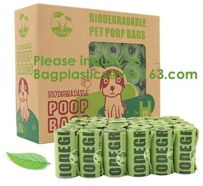 Manufacture 100% biodegradable Home compost or OK compost Durable Supermarket food waste garbage bags, bagease, package