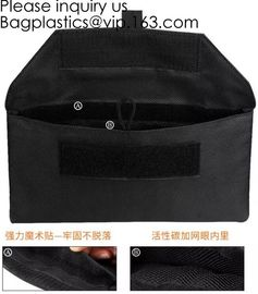 China Fireproof Document Bag Silicone Coated Fire Resistant Money Bag Fireproof Safe Storage Bag,Cash Bag,Money bag, security factory