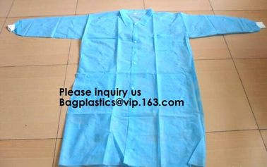 China General Purpose Disposable Coverall with Boots, Elastic Cuff,Disposable Non-woven Fabric Oversleeves Arm Sleeves Covers factory