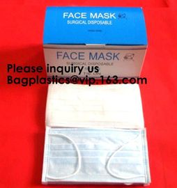 China Disposable Earloop Face Masks - Antiviral, Allergy and Flu Protection - Protect Your Health from Pollution, Dust, Germs factory