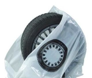Disposable tyre bags, steering wheel cover, car seat cover, disposable cover, pe car foot mat, gear Automotive Tire Bag