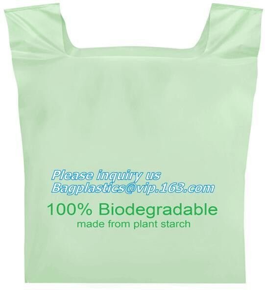 biodegradable packing bags, Biobag Compostable T-Shirt Bag, Compostable t-shirt bag, degradable bag manufacturer vest ca
