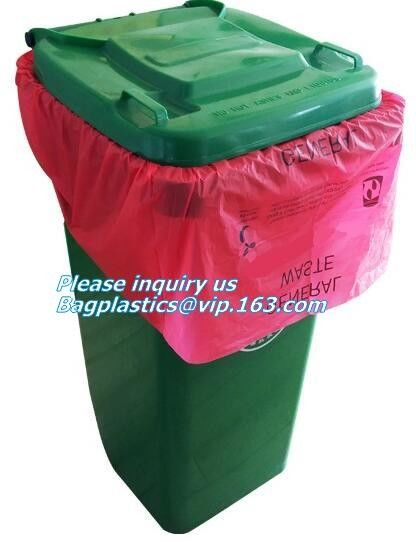 Food Waste Kitchen Bag 3 Gallon Compost Bin Liner 25 counts, Biodegradable compostable bin liners yellow