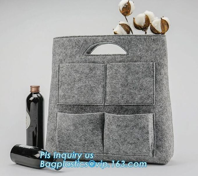 Felt Laptop Bag For Macbook Pro Laptops I7 Carrying Bag Case,Handle Notebook Computer Case Pouch with Accessories Holder