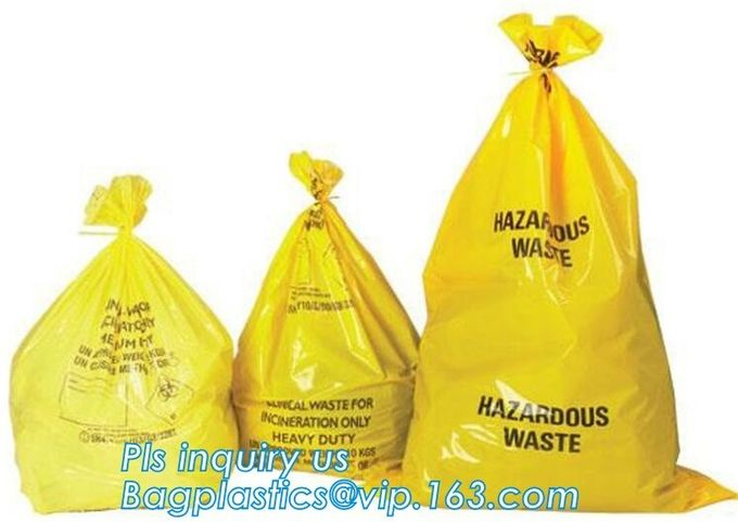 Poly Plastic Medical Specimen Bags Hospital Bag Medical Vomit Bag, specimen bag autoclavable biohazard bags high quality