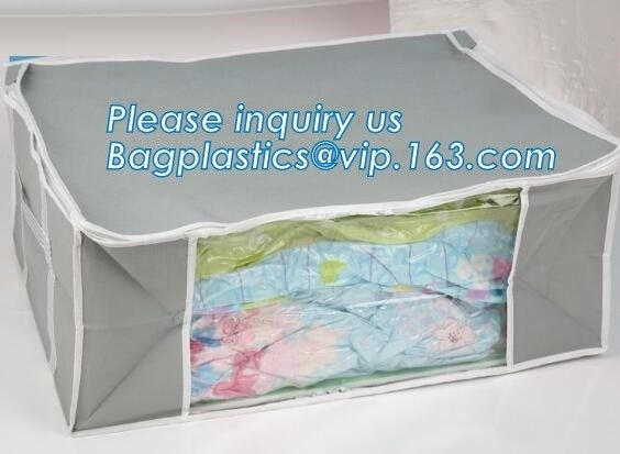 vacuum bags with fragrance for duvets or blankets, compression cube storage bag, quilt storage bag, bagplastics. bagease