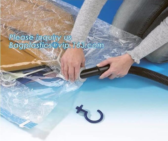 bedding with suction valve, Vacuum Bags Storage For Clothes With Pump, vacuum compressed bags, bagplastics, bagease