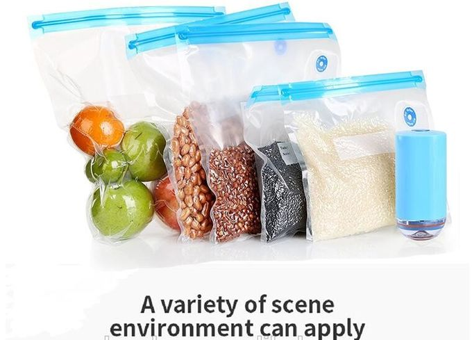 insulated food delivery reusable food storage food vacuum bags, environmental friendly cheap large small vacuum seal foo