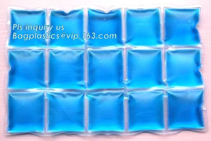 Air-cooled water injection ice packs in summer Ice pack, Food Cold Shipping freeze pack Fill water ice gel bag, insulate