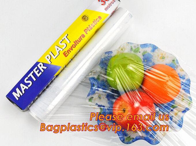 LDPE Plastic Fresh Keeping Food Wrap Cling Wrap Stretch Film, Bio