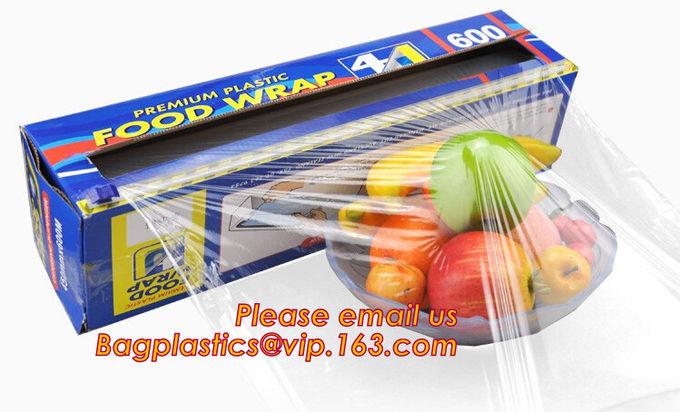 LDPE Plastic Fresh Keeping Food Wrap Cling Wrap Stretch Film