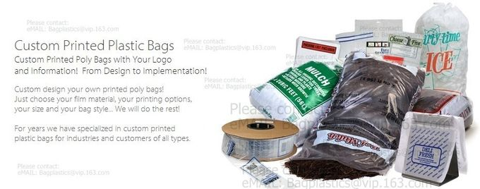 Narrow tubing Fish Bags Furniture Bags Garment Bags Gusseted Bags Gaylord Liners Large Zip Bags Ice Bags Mattress Bags