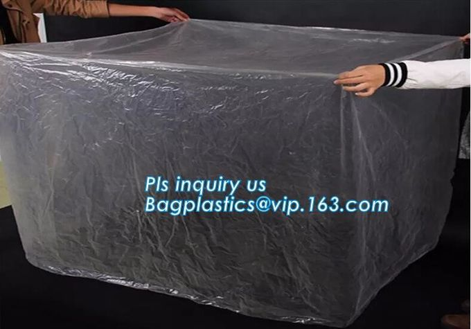 HDPE crystal clear standard flat heavy poly flat bags, Clear poly bag polypropylene flat bag for grocery packaging,LDPE