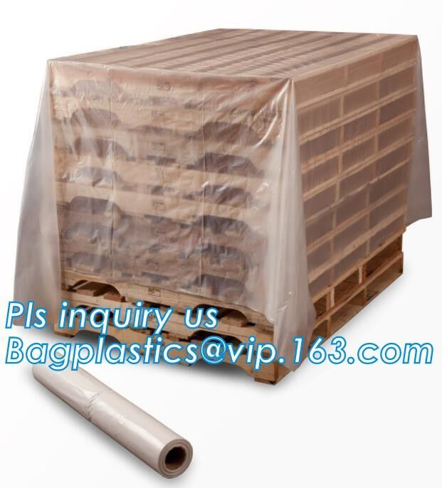 Clear 2Mil Gaylord Liners// Pallet Covers 36 x 36 x 72 Plastic Poly Bags LDPE USA