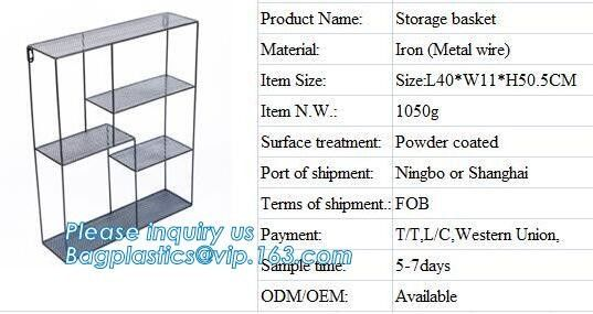 Manufacturer Simple Houseware Stackable 2 Tier Sliding Basket Drawer Organizer , Storage, Eco-friendly powder coated 2 t