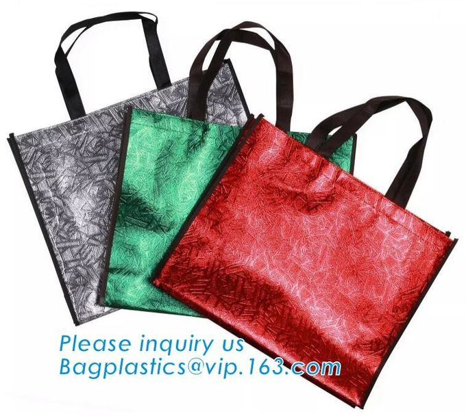 Custom wholesale ultrasonic heat sealed non woven tote bag,full-auto machine made non woven bag for shopping, bagease
