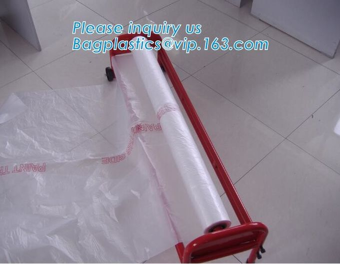 6ft heavy duty plastic sheet dropped table drop cloth,plastic dust protection sheet drop cloth,all purpose absorbent pla