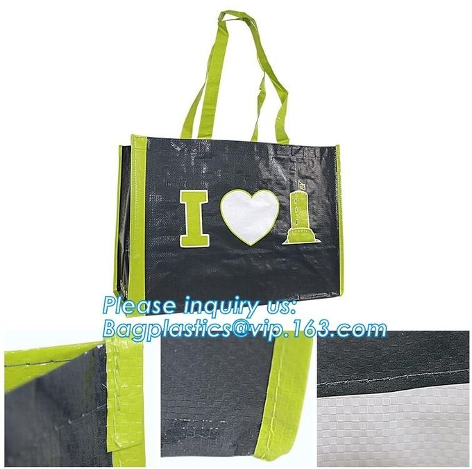 OEM ODM Customized eco friendly pp woven supermarket shopping bag,custom reusable laminated foldable PP pak woven shoppi