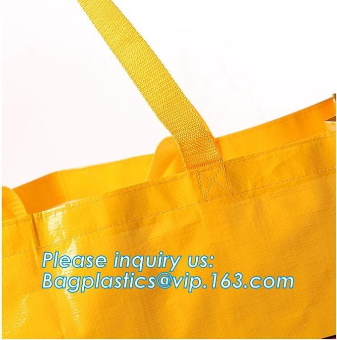 China Manufacturer Wholesale Price Custom Printed Eco Friendly Recycle Reusable PP Laminated pac Woven Tote Shopping Bag