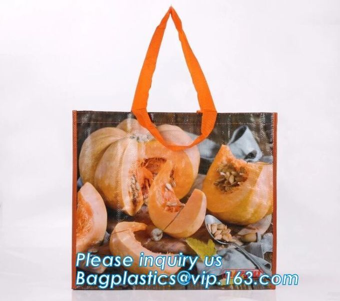 recycled pp woven laminated shopping bags glossy pp woven bags for advertising,ecofriendly pp lamination non woven shopp