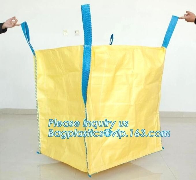 BAGS SACKS for usage mineral products, iron, manganese, copper, etc. powder, bulk goods transport packaging, warehousing