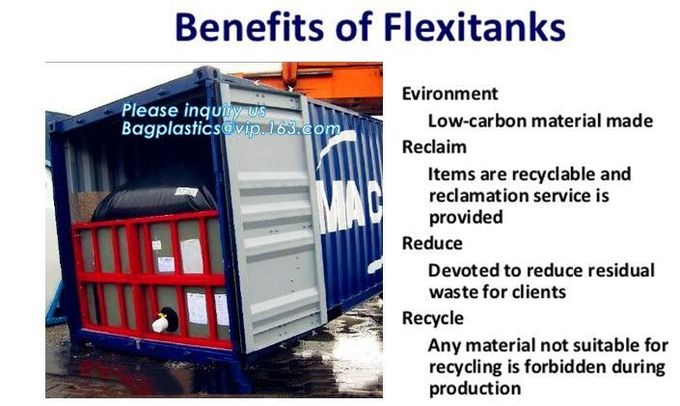high-temperature flexitank for hot asphalt,Recycled and Foldable TPU tarpaulin fuel storage flexitanks, polyester watert