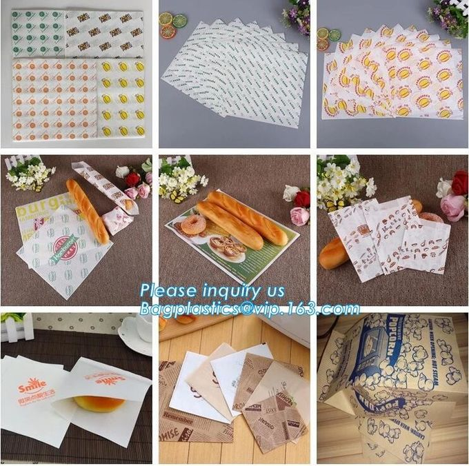 Eco friendly for bread packing paper bags with logo,Food packaging bag disposable kraft paper dried fruit bread bag with