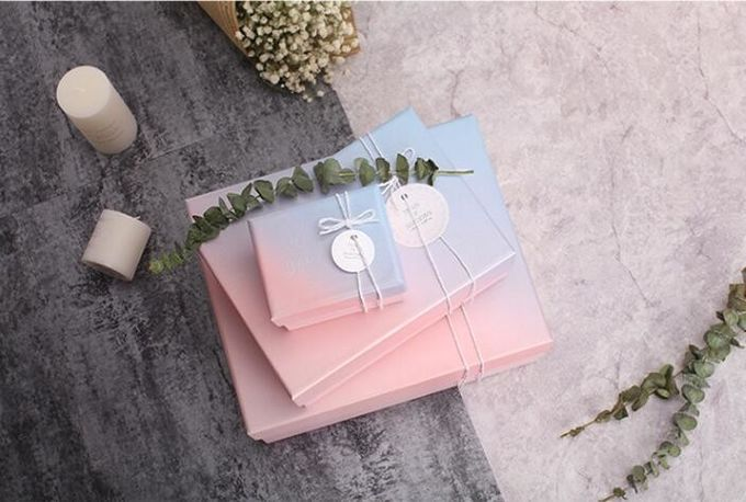 Unique cardboard Label Tag Gift Presentation Package Luxury Paper Box,luxury different designs paper flower gifts packag