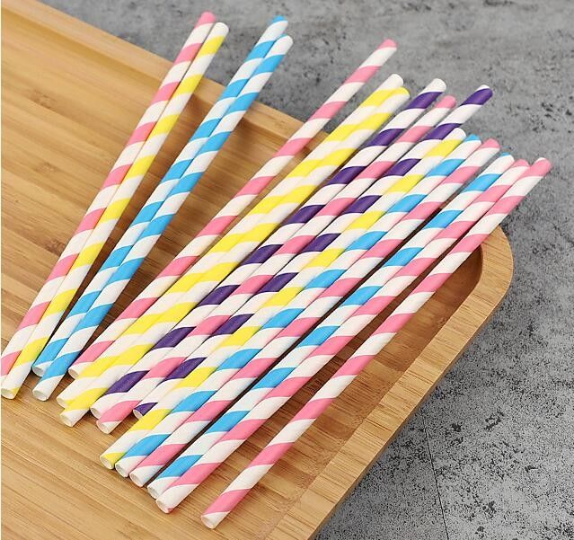 bulk colorful disposable wholesale drinking biodegradable paper straw,food grade paper straw disposable biodegradable pa