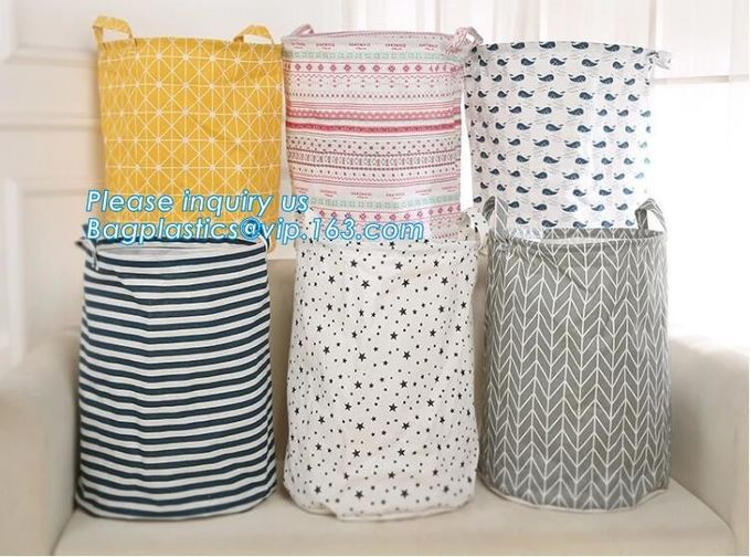Woven Storage Baskets Handmade Custom Color New Design Cotton Rope Basket,collapsible canvas storage basket,laundry bags