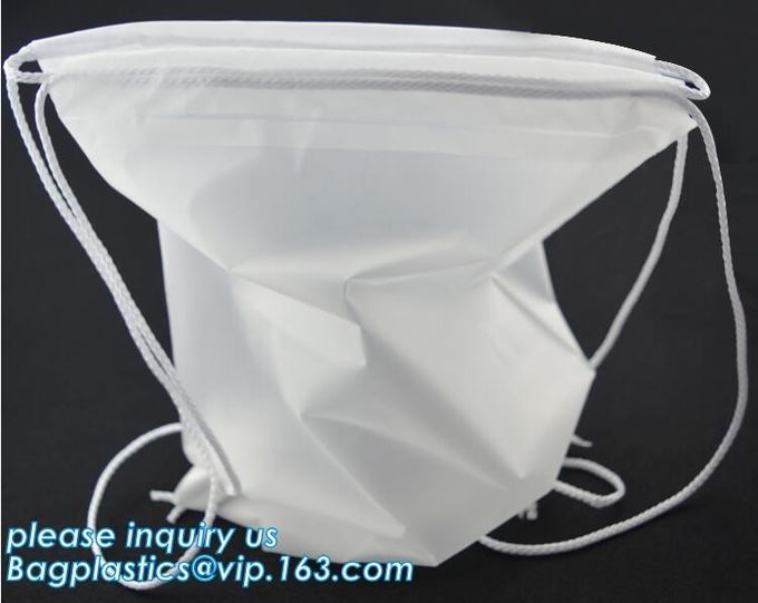 Biodegradable Polyester Washable High Quality Drawstring Laundry Bag With Drawstring,Household Cleaning Drawstring 600D