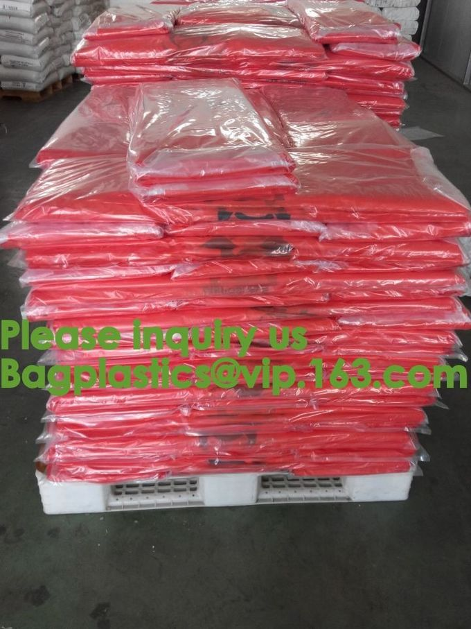 Yellow Bags Danger Biological Hazard,Biological Hazard Clipseal Bag,Biohazard Clinical Waste Bags,Medical and Biohazardo