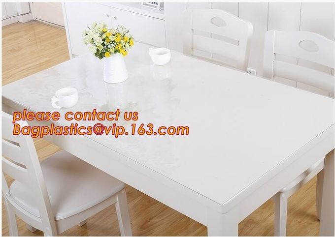 Wholesale price dining mat PVC Fabric silicone placemat table mat,tableware accessories round plastic placemat PVC water