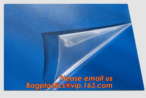Self Adhesive Transparent Antistatic Silicone Coated Protective Film,antistatic protective film milk white stretch film