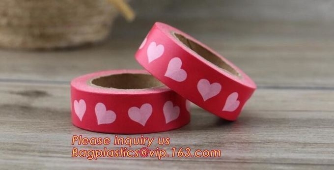 Free Samples Printed Decorative Set Washi Tape,Vintage style free sample box waterproof custom printed washi tape BAGEAS
