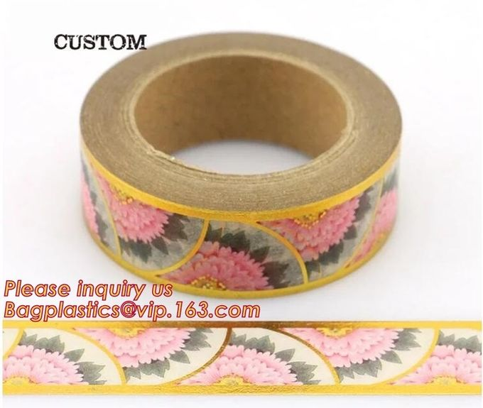Most Popular Lovely Design Custom Printing Various Color Pineapple Assorted Pattern Waterproof Washi Tape For Kids Craft
