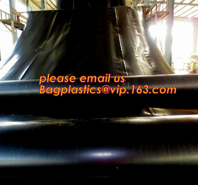 1mm hdpe geomembrane indoor fish farming tank 1.0mm geomembrane,2mm high density polyethylene waterproof membrane BAGEAS