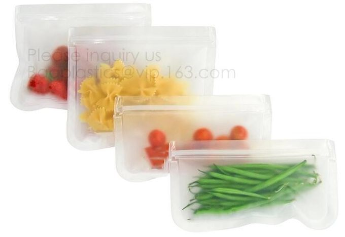 Reusable cheap wholesale plastic peva food storage bag,Reusable silicone safe PEVA food storage sandwich bag bagplastics