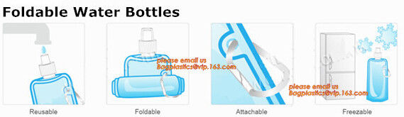 Portable portable collapsible hiking water container foldable water bag 5 liters,5L BPA Free Collapsible Water Bottle Fo