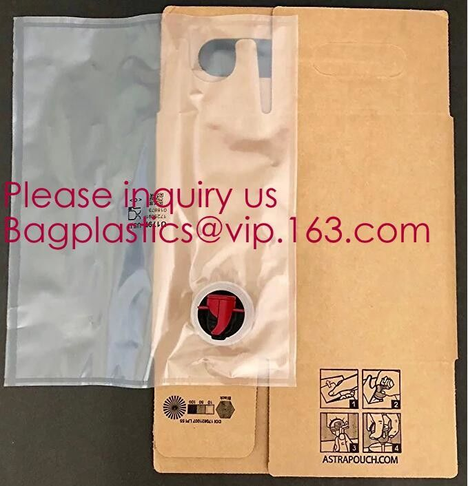 Aluminum foil wholesale spout liquid wine bag in box with packaging,Bag in Box packaging with valve and spout/Unique bag