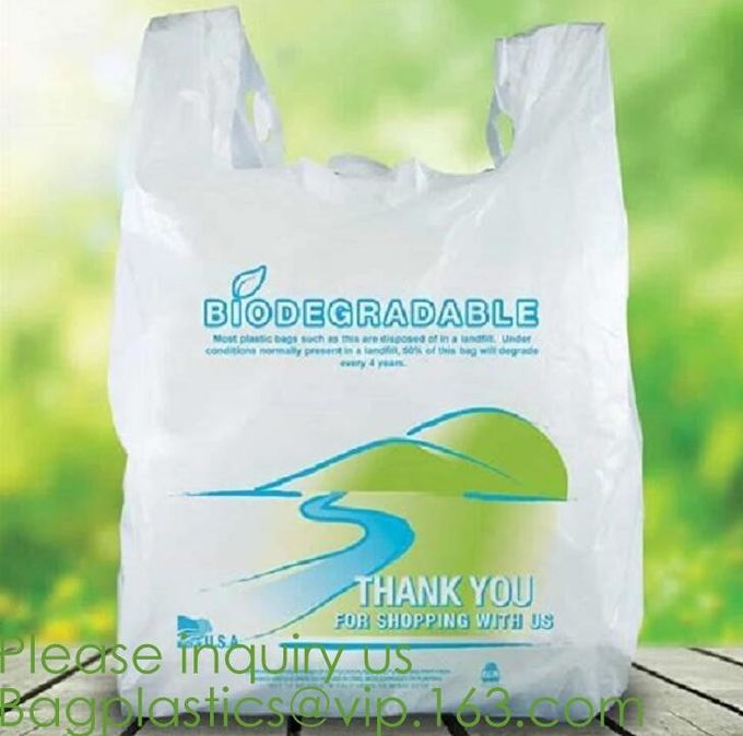 Eco friendly Compostable Waste Bags 100% Biodegradable Garbage Bags Made From Cornstarch,Biodegradable bags Garbage Bags