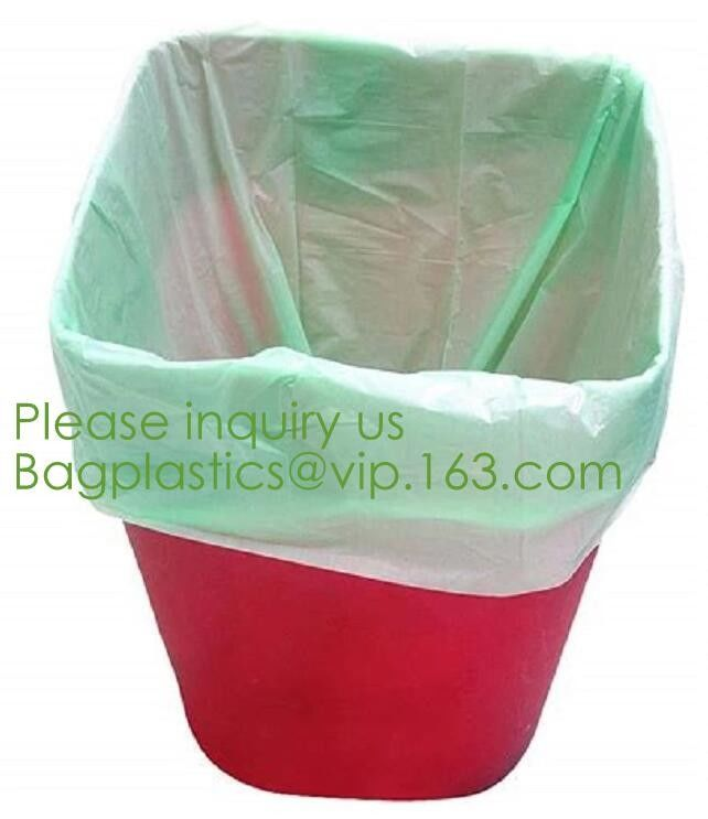 Factory direct sale biodegradable compost bags with CE FDA certificate,Compostable Recyclable Clear Poly Bags Custom Log