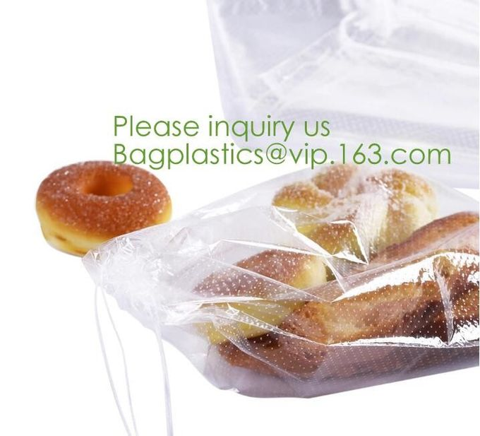 Microperforated PP Material Bakery Bag,hot perforated five layers POF shrink film,Microperforated pof (Polyolefin) shrin