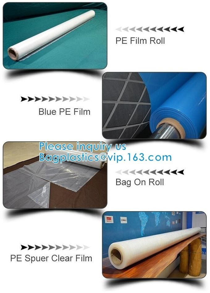 Flexible Packaging Films/Flexible Packaging Material For Furniture Cover Dust Sheet