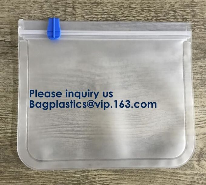 Factory Direct Environmentally Friendly Degradable Material Wearing Rope Harness Pocket PEVA Thickening Universal Packag