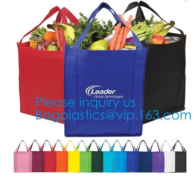 Wholesale Recycle Hand Bag Non Woven Bag, Custom Colorful Tote Shopping Non Woven Carrier Bag,Tote Recycle Non Woven Bag