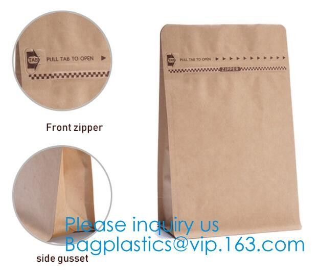 Printed Waterproof Zipper Stand Up Aluminum Foil Bag For Pet Food Laminated Bags, Polypropylene Pouches, Aluminum Foil B