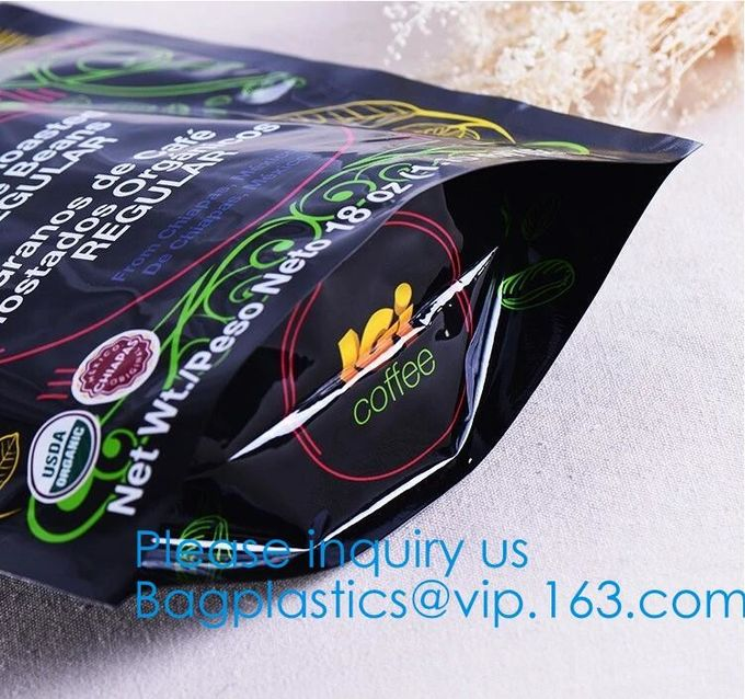 Packaging For Snack, Powder, Dried Food, Seeds, Coffee, Sugar, Spice, Bread, Tea, Herbal, Cereals, Tobacco, Pet Food, Ca